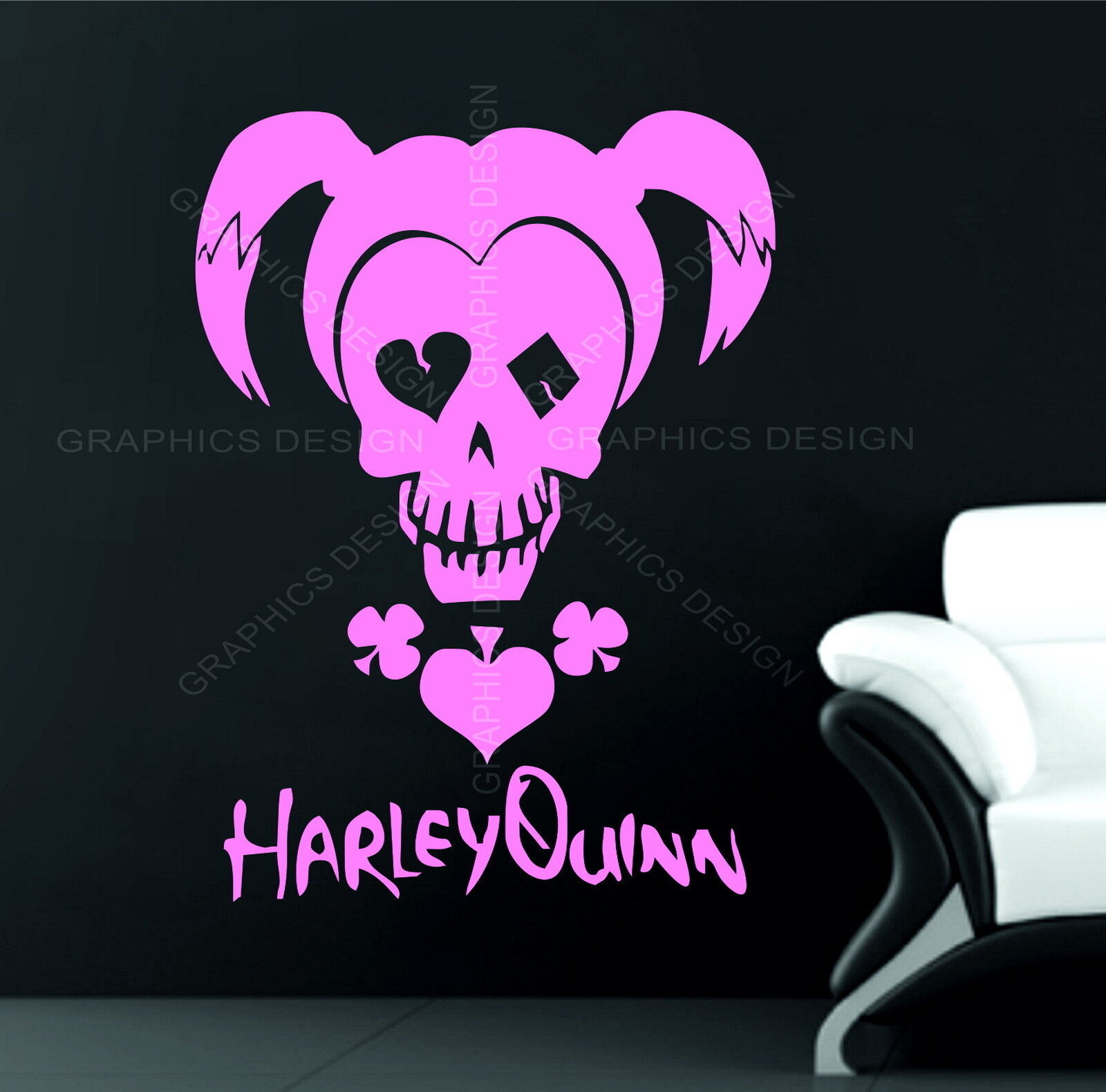 Bumper sticker creator uk - Suicide Squad Harley Quinn