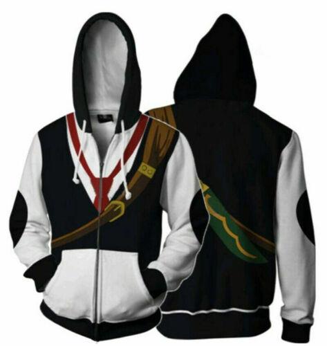 Seven Deadly Sins Cosplay Costume Dragon/'s Sin of Wrath Meliodas Hoodie Jacket