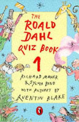 """""""AS NEW"""" The Roald Dahl Quiz Book 1: No. 1 (Puffin jokes, games, puzzles), Maher"""