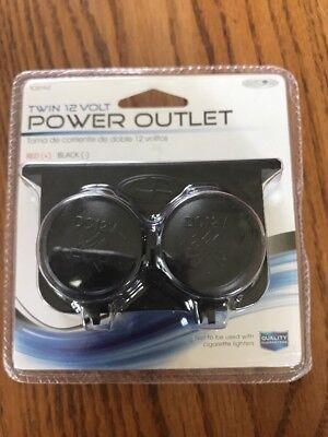 Custom Accessories 10242 Twin 12 Volt Power Outlet Ships N 24h 12-volt Portable Appliances
