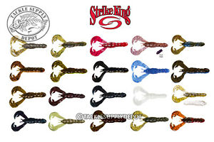 Strike-King-Rage-Tail-Rage-Craw-Creature-Flip-Pitch-Jig-Trailer-4in-7pk-Pick