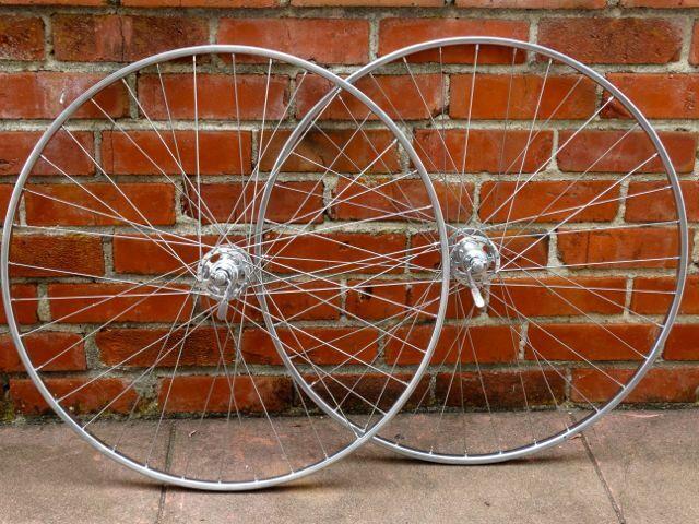 Campagnolo Record high-flange Fiamme Ergal 700C, tubular wheel-set - Fresh pro b