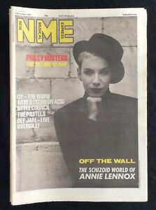 NME-New-Musical-Express-7-November-1987-Annie-Lennox-U2-Style-Council-Pastels