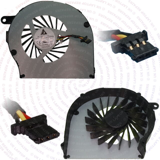 HP G62-300 Replacement CPU Cooling Fan 3 pin 3 Wire Connector