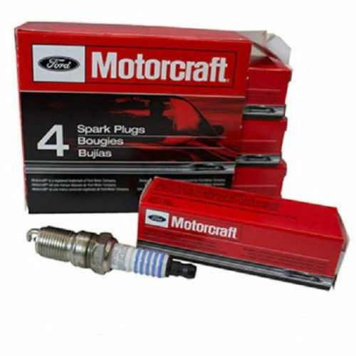 Set of 4 Genuine Ford Motorcraft Double Platinum Spark Plugs SP-478 AZFS32FE
