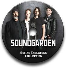 SOUNDGARDEN ROCK GUITAR TABS TABLATURE SONG BOOK SOFTWARE CD