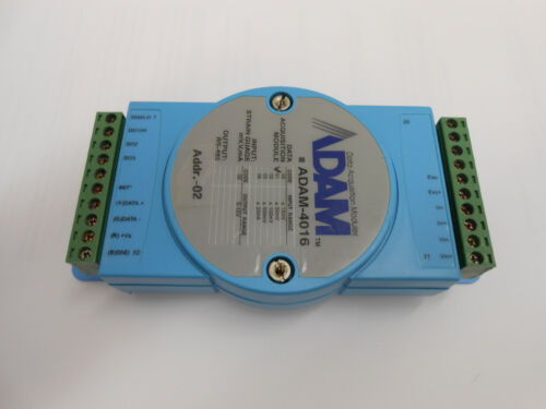 ADAM-4016 DATA AQUISITION MODULE INPUT RANGE 50mV OUTPUT RANGE 0-10V