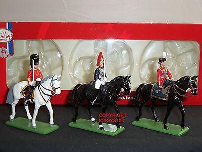 2019 Nieuwe Stijl Britains 41060 Hamleys Hm Queen Elizabeth Scots Guard Officer Horseguard Mounted Firm In Structuur