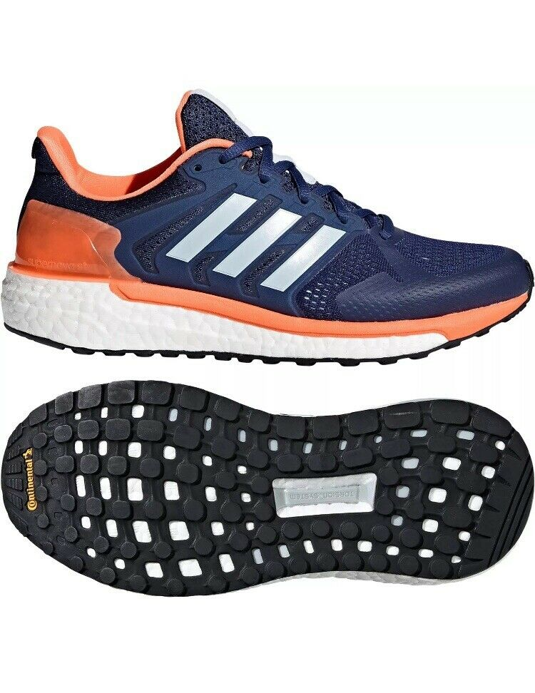 Adidas Supernova ST bluee orange women's shoes Size UK5 EUR 38
