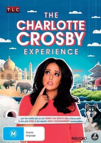 1 of 1 - The CHARLOTTE CROSBY Experience DVD REALITY - TV SERIES NEW RELEASE BRAND NEW R4