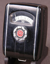 Vtg GE Mascot Exposure Light Meter-Type PR 30-Black-Made in USA-Photography-Cam
