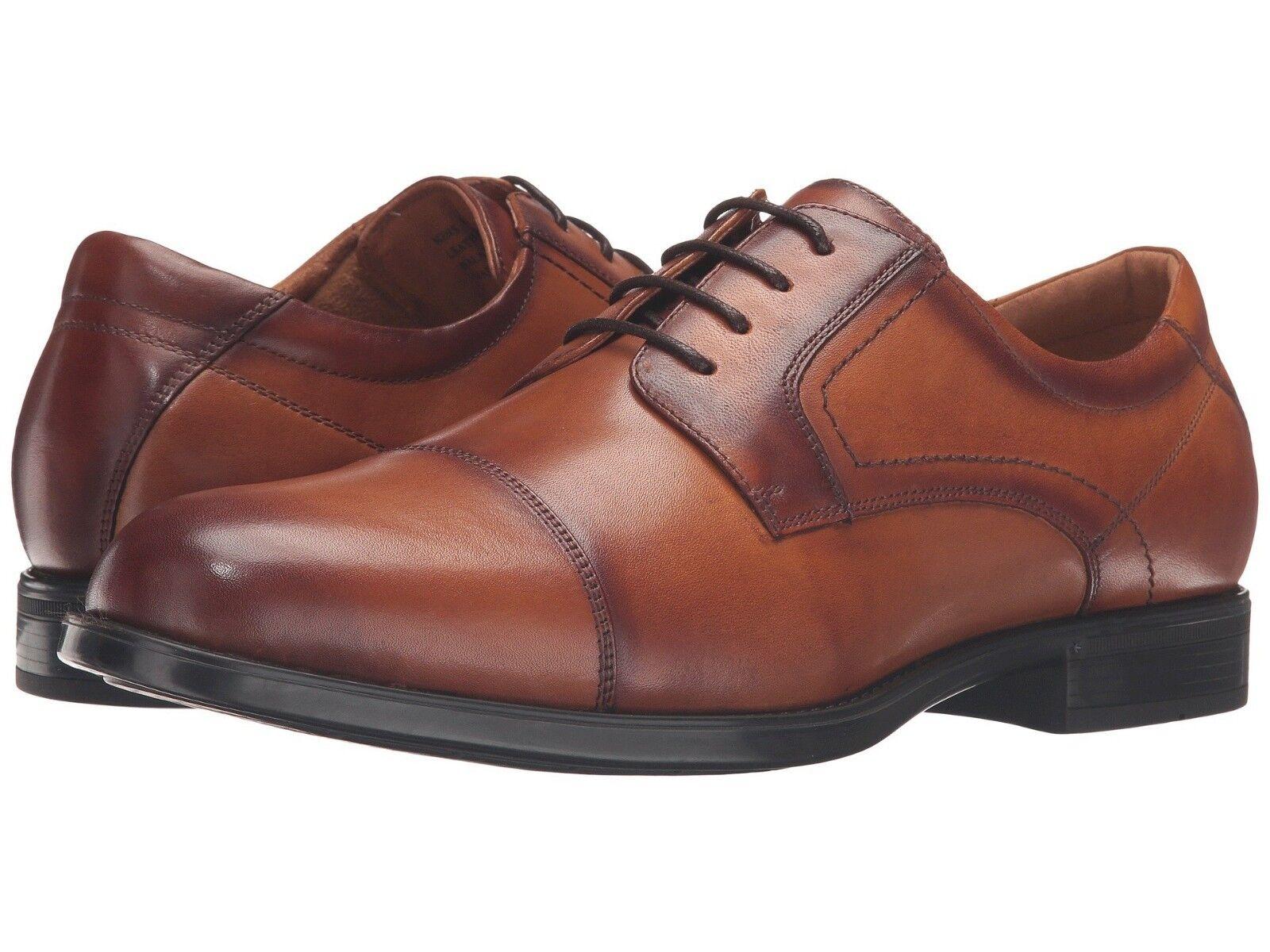 Florsheim Men's Midtown Cap Toe Oxford Cognac US Sizes Widths