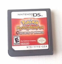 Nintendo DS Dsi Dsl 3DS 2DS POKEMON MYSTERY DUNGEON EXPLORERS OF DARKNESS