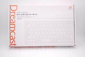 Sega-Dreamcast-Keyboard-w-Box-Japan-import-HKT-4000-DC-Clear-Skeleton-Color