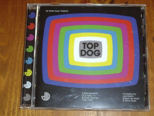 1 of 1 - TOP DOG *RARE CD ' A RETROSPECTIVE OF CLASSIC T.V. & RADIO THEMES '  2010 EXC