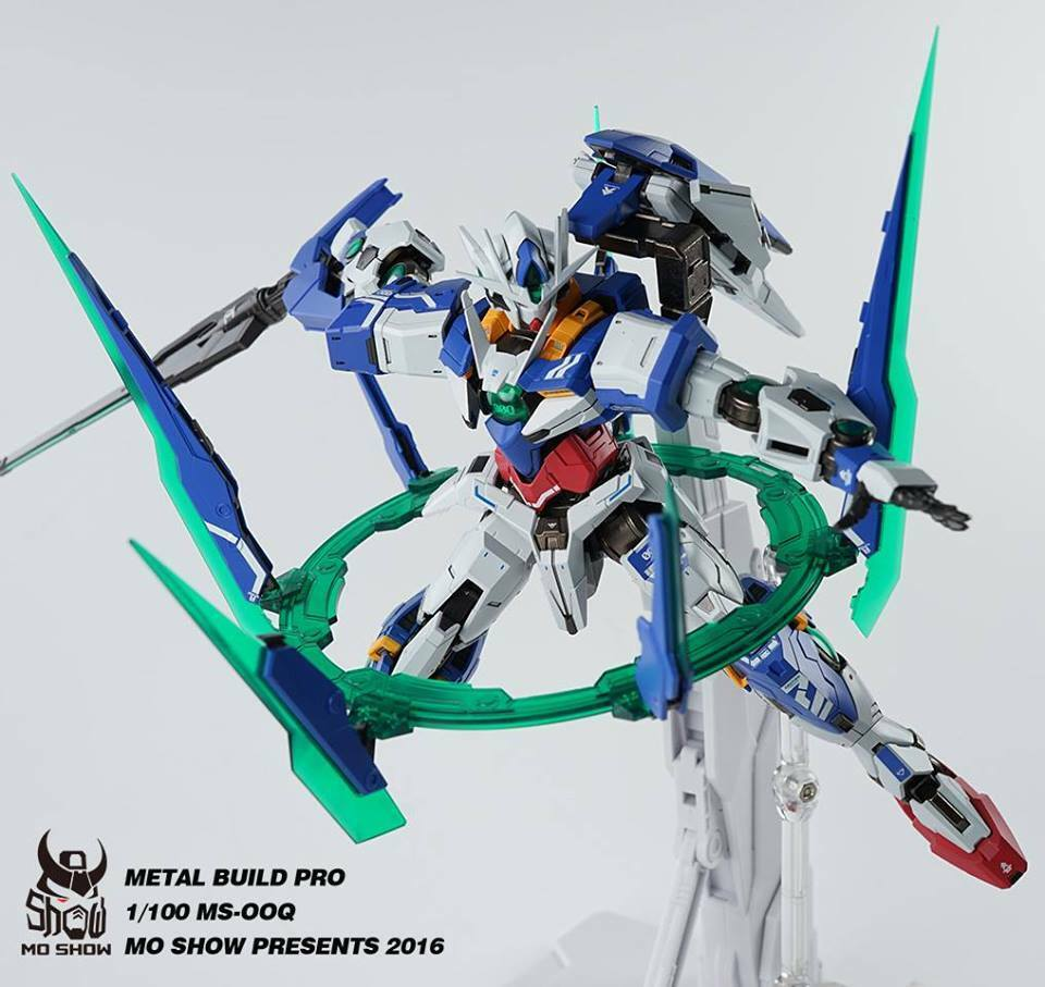 Metal Build Pro MO SHOW 1/100 GNT-0000 MS-00Q Quanta Gundam IN ITALIA!!!