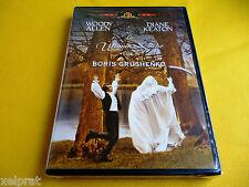 LA ULTIMA NOCHE DE BORIS GRUSHENKO - LOVE AND DEATH Woody Allen - Precintada