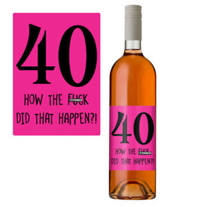 Funny-40th-Birthday-40-Today-Wine-Bottle-Label-Gift-Perfect-For-Her-Women-Pink