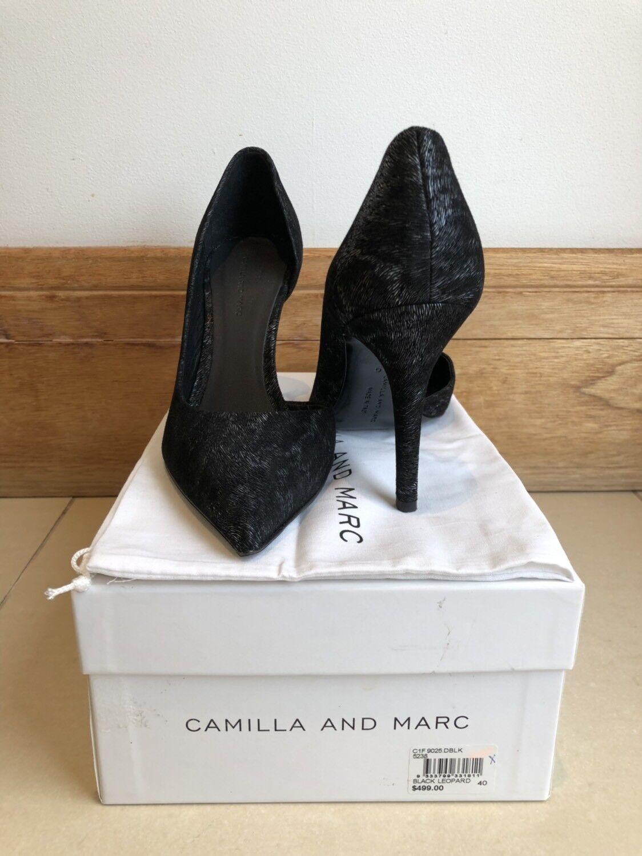 profitto zero CAMILLA AND MARC Stiletto Heels     nero Leopard   40 EUR  vendite dirette della fabbrica