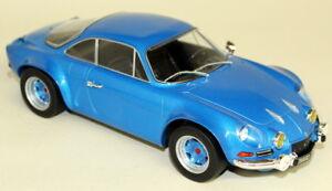 Ixo-1-18-Scale-MC006-Renault-Alpine-A110-1973-Metallic-Blue-Diecast-Model-Car