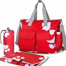 Ricambio pannolino per bambini Borsa Mamma BORSE portapannolini con modifica MAT PAD Shopper Tote Bag