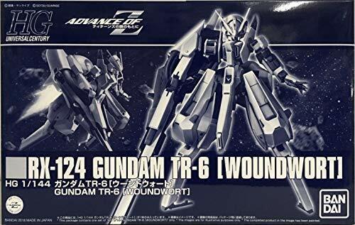 HGUC 1 144 RX 124 Gundam TR 6 Woundwort