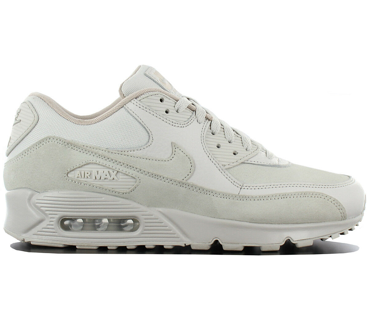 Nike Air Max 90 Leather Premium Baskets / Chaussures Homme - Light OS -