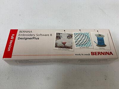 Bernina Embroidery Software Designer Plus Version 8 8 2 V8 Full Version Ebay