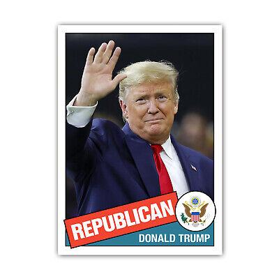 Donald Trump Novelty Custom 1981 Style Presidential Baseball Card MAGA GOP 2020