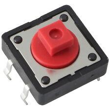 5 Diptronics DTS-24R-V Mini-Taster 12V 50mA 1xEIN 2,6N 12x7,3mm liegend 855624