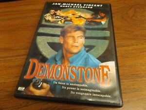 Demonstone-DVD-1989-Jan-Michael-Vincent-Rare-OOP-Tested