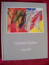 Gerhard Richter - Aquarelle   rares geb. Buch Verlag Galerie Fred Jahn