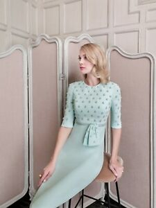 John-Charles-26488-Mother-of-the-Bride-Mint-Wedding-Sequined-Dress-UK-10-38