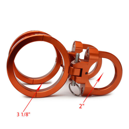 """Fit for 2/"""" Tube and 3 1//8/"""" Quick Release Fire Extinguisher Mount UTV RZR Polaris"""