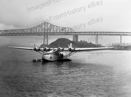8x10 Print Martin M-130 China Clipper PAA Aircraft 1935 #1009058