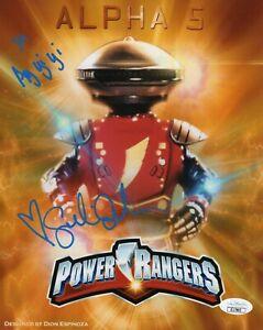 Sandi-Sellner-Autograph-Signed-8x10-Photo-Power-Rangers-034-Alpha-5-034-JSA-COA