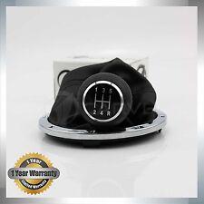 For VW Gol Pointer Saveiro Parati 5 Speed Gear Shift Knob Gaiter Boot Chrome