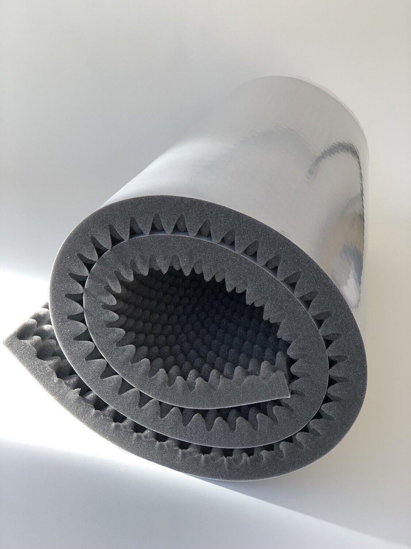 Noppenschaum Matte Audio Akustik Schalldämmung 200x 100x 3cm XXL