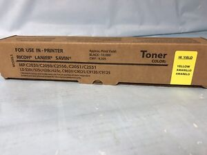 1-Ricoh-Yellow-Toner-841283-MP-C2551-C2550-C2050-C2030-C2530-C9025-C9120-841501