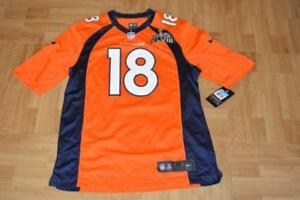 the best attitude be72e a933b Details about NIKE DENVER BRONCOS PEYTON MANNING SUPER BOWL 48 FOOTBALL  JERSEY - SIZE M