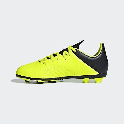 Scarpe da calcio bambino ADIDAS Jr X Tango 18.4 FG giallo e nero DB2420 | eBay