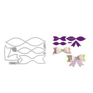 Ribbon-Bow-Album-Cutter-Cutting-Dies-Stencil-Scrapbook-Paper-Cards-Embossing