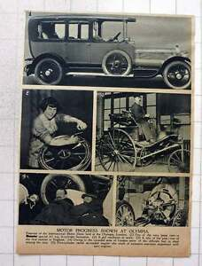1919 Motor Progress Olympia Girl Mechanic, 5 Cylinder Radial Air Cooled Engine
