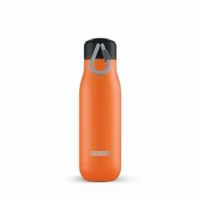 Haushaltsgeräte Zoku Orange 0,53l Vakuum Isolierte Thermo Trinkflasche Aus Edelstahl Hält 12h