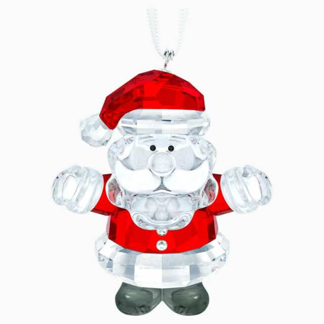 Santa Claus 2020 Holiday Christmas Swarovski Crystal Swarovski Crystal SANTA CLAUS Christmas Ornament  5286070 New for