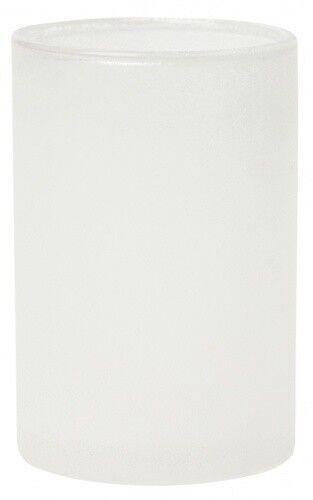 Duni Kerzenhalter Glas Ice Weiß - - - 2x4 Stück 715c16
