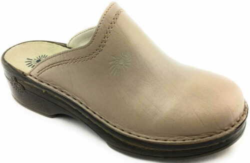 Helix Mules Sandales Chaussons Beige