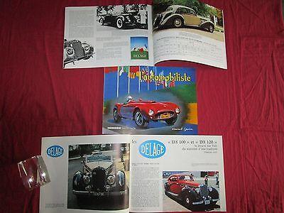Systematisch L'automobiliste N°69 : N° Spécial Automobile Delage D8-100 Et D8-120 Glanzend Oppervlak