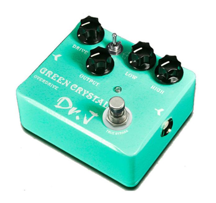 Joyo Dr.J D50 Grün Crystal Overdrive Electric Guitar Effect Pedal True Bypass