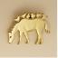 HORSE /& BIRDS Pendant .925 Sterling Silver or 22 K Gold Vermeil